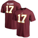 Doug Williams Washington Redskins NFL Pro Line by Fanatics Branded Retired Player Authentic Stack Name & Number T-Shirt – Burgun