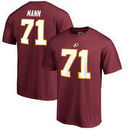 Charles Mann Washington Redskins NFL Pro Line by Fanatics Branded Retired Player Authentic Stack Name & Number T-Shirt – Burgund