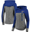 St. Louis Blues G-III 4Her by Carl Banks Women's Sideline Pullover Hoodie - Gray