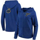 St. Louis Blues Touch by Alyssa Milano Women's Tackle Full-Zip Hoodie - Blue