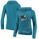 San Jose Sharks Touch by Alyssa Milano Women's Wildcard Raglan Long Sleeve T-Shirt - Teal