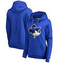 Golden State Warriors Fanatics Branded Women's Disney Game Face Pullover Hoodie - Royal