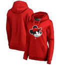 Houston Rockets Fanatics Branded Women's Disney Game Face Pullover Hoodie - Red