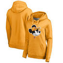 Los Angeles Lakers Fanatics Branded Women's Disney Game Face Pullover Hoodie - Gold