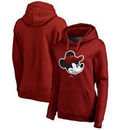 Miami Heat Fanatics Branded Women's Disney Game Face Pullover Hoodie - Red
