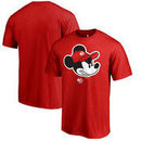 Atlanta Hawks Fanatics Branded Disney Game Face T-Shirt - Red