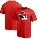 Houston Rockets Fanatics Branded Youth Disney Game Face T-Shirt - Red