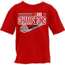 Ohio State Buckeyes Blue 84 Youth 2017 Big Ten Football Conference Champions Locker Room T-Shirt – Red