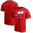 Atlanta Hawks Fanatics Branded Disney Fly Your Flag T-Shirt - Red