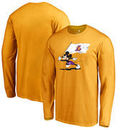 Los Angeles Lakers Fanatics Branded Disney Fly Your Flag Long Sleeve T-Shirt - Gold