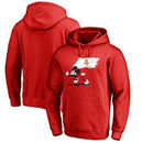 Houston Rockets Fanatics Branded Disney Fly Your Flag Pullover Hoodie - Red