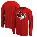 Atlanta Hawks Fanatics Branded Youth Disney Game Face Long Sleeve T-Shirt - Red