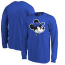 Dallas Mavericks Fanatics Branded Youth Disney Game Face Long Sleeve T-Shirt - Blue