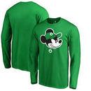 Boston Celtics Fanatics Branded Disney Game Face Long Sleeve T-Shirt - Kelly Green