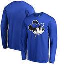Dallas Mavericks Fanatics Branded Disney Game Face Long Sleeve T-Shirt - Blue