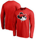 Houston Rockets Fanatics Branded Disney Game Face Long Sleeve T-Shirt - Red
