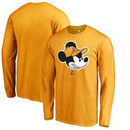 Los Angeles Lakers Fanatics Branded Disney Game Face Long Sleeve T-Shirt - Gold