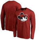 Miami Heat Fanatics Branded Disney Game Face Long Sleeve T-Shirt - Red