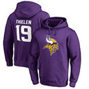 Adam Thielen Minnesota Vikings NFL Pro Line by Fanatics Branded Player Icon Name & Number Pullover Hoodie – Purple