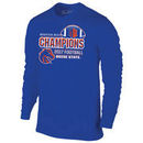 Boise State Broncos 2017 MWC Football Conference Champions Locker Room Long Sleeve T-Shirt – Royal