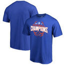 Boise State Broncos Fanatics Branded 2017 MWC Football Conference Champions T-Shirt – Royal