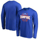 Boise State Broncos Fanatics Branded 2017 MWC Football Conference Champions Long Sleeve T-Shirt – Royal