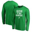 San Jose Sharks Fanatics Branded St. Patrick's Day Irish Game Day Long Sleeve T-Shirt - Kelly Green