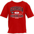 Georgia Bulldogs Blue 84 Youth College Football Playoff 2018 Rose Bowl Bound Affliction T-Shirt – Red