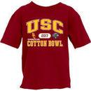 USC Trojans Blue 84 Youth 2017 Cotton Bowl Bound Affliction T-Shirt – Cardinal