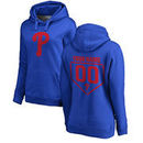 Philadelphia Phillies Fanatics Branded Women's Personalized RBI Pullover Hoodie - Royal