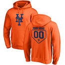 New York Mets Fanatics Branded Personalized RBI Pullover Hoodie - Orange