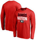 Georgia Bulldogs Fanatics Branded College Football Playoff 2018 Rose Bowl Bound Delay Long Sleeve T-Shirt – Red