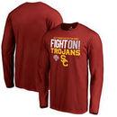 USC Trojans Fanatics Branded 2017 Cotton Bowl Bound Delay Long Sleeve T-Shirt – Cardinal