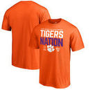 Clemson Tigers Fanatics Branded College Football Playoff 2018 Sugar Bowl Bound Delay T-Shirt – Orange