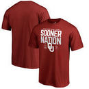 Oklahoma Sooners Fanatics Branded College Football Playoff 2018 Rose Bowl Bound Delay T-Shirt – Crimson