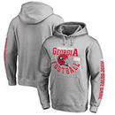 Georgia Bulldogs Fanatics Branded College Football Playoff 2018 Rose Bowl Bound Down pullover hoodie – Heathered Gray