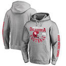 Oklahoma Sooners Fanatics Branded College Football Playoff 2018 Rose Bowl Bound Down Hoodie – Heathered Gray