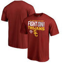 USC Trojans Fanatics Branded 2017 Cotton Bowl Bound Delay Big & Tall T-Shirt – Scarlet