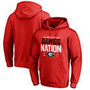 Georgia Bulldogs Fanatics Branded College Football Playoff 2018 Rose Bowl Bound Delay Pullover Hoodie – Red