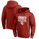 Oklahoma Sooners Fanatics Branded College Football Playoff 2018 Rose Bowl Bound Delay Pullover Hoodie – Crimson