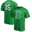 Dustin Pedroia Boston Red Sox Fanatics Branded St. Patrick's Day Backer T-Shirt - Kelly Green