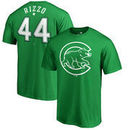 Anthony Rizzo Chicago Cubs Fanatics Branded St. Patrick's Day Backer T-Shirt - Kelly Green