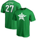 Jose Altuve Houston Astros Fanatics Branded St. Patrick's Day Backer T-Shirt - Kelly Green