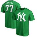 Clint Frazier New York Yankees Fanatics Branded St. Patrick's Day Backer T-Shirt - Kelly Green