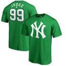 Aaron Judge New York Yankees Fanatics Branded St. Patrick's Day Backer T-Shirt - Kelly Green
