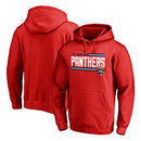 Florida Panthers Fanatics Branded Iconic Collection On Side Stripe Pullover Hoodie - Red