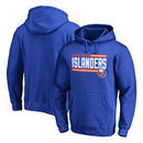 New York Islanders Fanatics Branded Iconic Collection On Side Stripe Pullover Hoodie - Royal