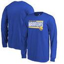 Golden State Warriors Fanatics Branded Youth Onside Stripe Long Sleeve T-Shirt - Royal