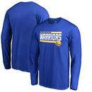 Golden State Warriors Fanatics Branded Onside Stripe Big and Tall Long Sleeve T-Shirt - Royal
