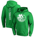John Tavares New York Islanders Fanatics Branded St. Patrick's Day Backer NHL Hoodie – Kelly Green
